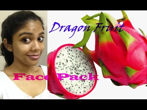 Video DRAGON FRUIT ( Pitaya ) Face Pack     Natty