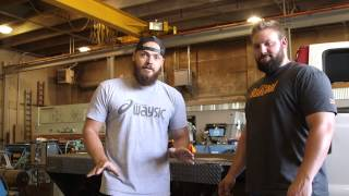 DIESEL POWER GEAR: #HeavyD and #DieselDave give you a shop update!