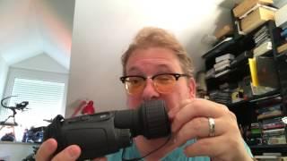 Igelbeobachtung mit Nachtsichtgerät Newton NV4x50 Vivid