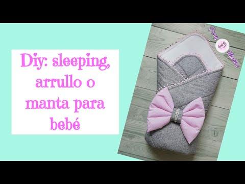 COMO HACER SLEEPING, MANTA, O ARRULLO PARA BEBÉ