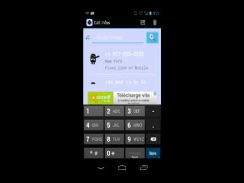 Video of Call Infos
