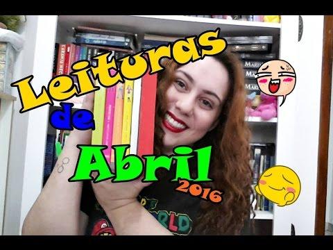 Leituras de Abril 2016 l Baú Literário