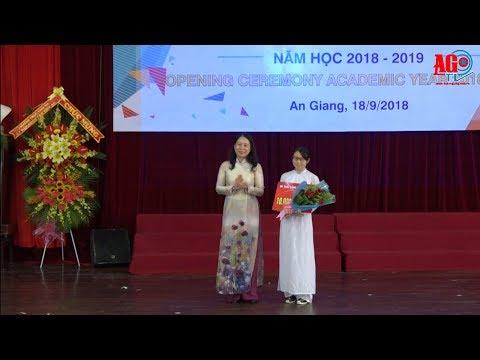Trường đại học An Giang khai giảng năm học 2018-2019