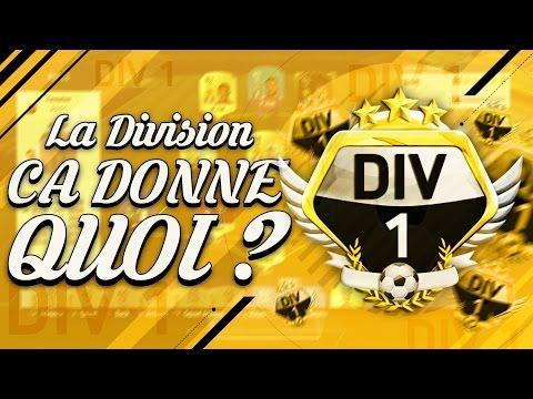 LA DIVISION 1 ÇA DONNE QUOI ?!