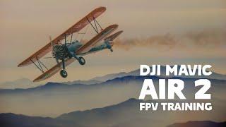 Treino voo FPV 4K