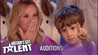 Kids Choir Leaves Judges In Tears With Powerful Song About The Planet!| Britains Got Talent 2020
