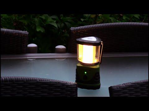 Camping Laterne - Garten Laterne - Zeltleuchte - warmweiss 300 Lumen