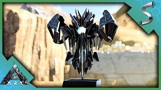 THE BEST WAY TO FARM GACHA CRYSTALS! OWL PELLET TOWER BUILD! - Ark