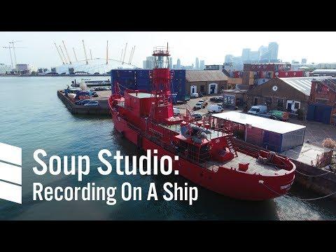 Soup Studio: Recording On A Ship