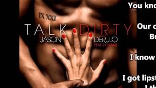 Jason Derulo - Talk Dirty Lyrics (Clean)