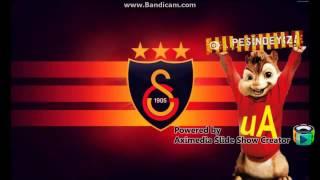 Galatasaray Marşı   Alvin Ve Sincaplar