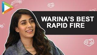WOW: Warina Hussain's SURPRISING & IMPRESSIVE Performance In This HINDI Quiz   Rapid Fire