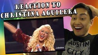 Christina Aguilera - Makes Me Wanna Pray Live (REACTION)