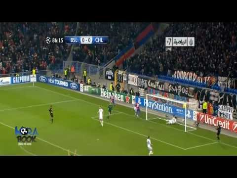 Mohamed Salah Fantastic Goal  Chelsea 0 1 Basel Highlights Goals  Champions League 26 11 2013
