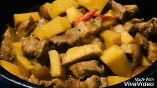 Thịt Kho Măng thơm ngon rất đưa cơm, gia đình nhỏ