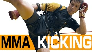 MMA Fitness Training - Kick with more Power and Speed
