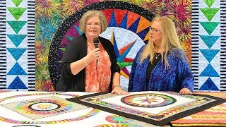 Luana Rubin interviews Jacqueline de Jonge on the color and design in her exquisite quilts (Part 1).