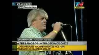 preview picture of video 'Acto a 3 años de la Tragedia de Once - Palabras de Gustavo Vera'