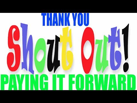 Want to say THANK YOU and pay it forward #RHEC