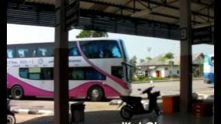 preview picture of video 'Trat Bus Terminal, Trat Town, Thailand'