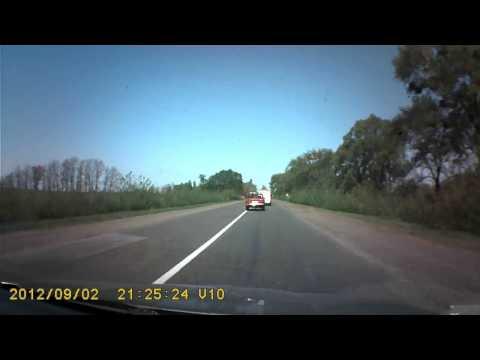 Пьяный лётчик на Chevrolet улетел с дороги