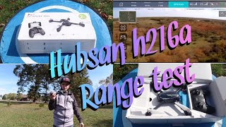 Hubsan h216a X4 DESIRE PRO Flight And range Test