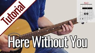 3 Doors Down - Here Without You | Gitarren Tutorial Deutsch