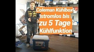 Coleman Kühlbox - Stromlos bis zu 5 Tage Kühlfunktion