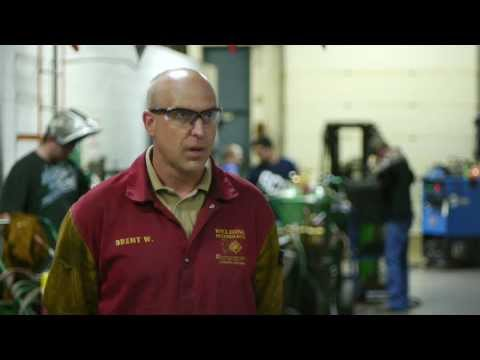 SCC Instructor, Alumnus talks Welding: Video