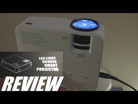 REVIEW: DBPower T20 LED Mini Projector – 1500 Lumens!