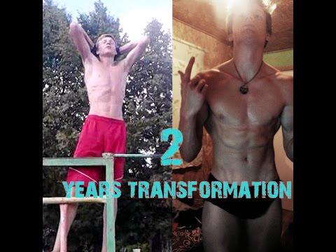 My 2 Years Body Transformation  [INSPIRED BY ZYZZ]