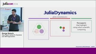 JuliaCon 2018 | Why Julia is the most suitable language for science | George Datseris