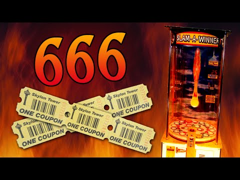 666 EVIL Arcade Tickets! - Arcade Adventures