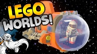 """LEGO Worlds Gameplay - """"EVERYTHING IS AWESOME...AGAIN!!!"""" Walkthrough Let"""