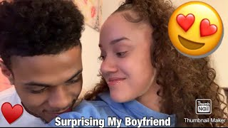 SURPRISED MY BOYFRIEND WITH 15 SPECIAL GIFTS JUST BECAUSE!!! **Gets Emotional** 😭❤️❤️