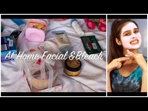 At Home Facial and Bleach in 6 Steps For ALL SKIN TYPES (Giveaway Closed)