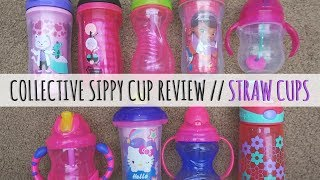 Straw Sippy Cup Review // 9 Sippy Cups Tested // Momma Alia
