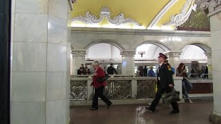 Вся кольцевая линия метро (полная версия 30 минут)