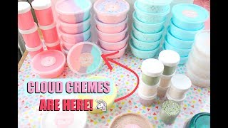 CLOUD CREME SLIMES ARE HERE! - Peachybbies Restock July 22nd