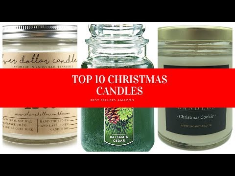 ✔️ TOP 10 BEST CHRISTMAS CANDLES 🛒 Amazon 2019