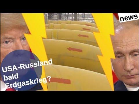 USA-Russland: Bald Erdgaskrieg? [Video]