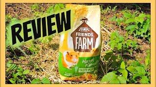 OLD !! TINY FRIENDS FARM HAZEL HAMSTER Review   Hamster Food