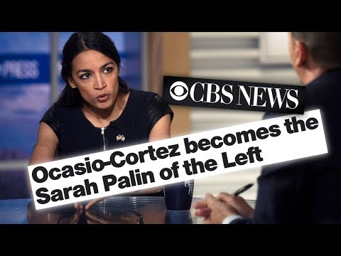 """Right-Wing Journalist Calls Ocasio-Cortez the """"Sarah Palin of the Left"""""""