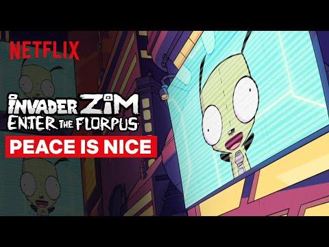 Peace is Nice   Invader Zim: Enter the Florpus   Netflix