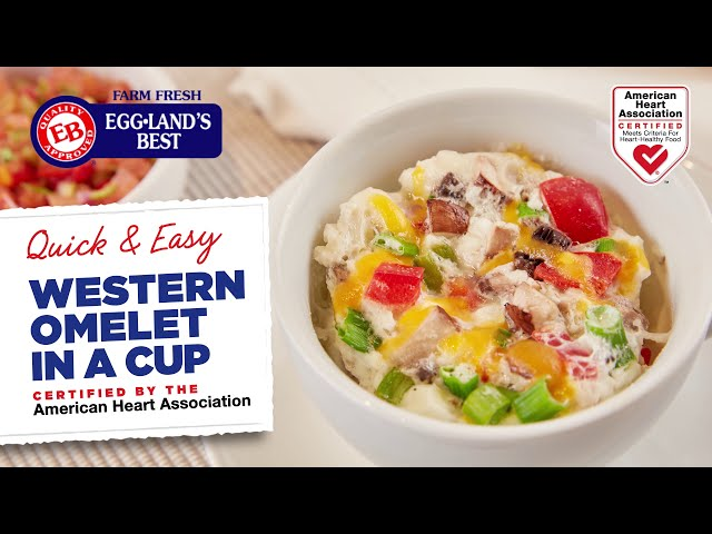 Western Omelet in a Cup