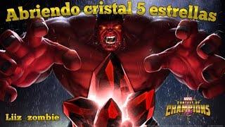 Abriendo cristal 5* estrellas! Día Perfecto!! Marvel Batalla de Superheroes