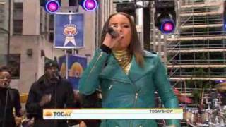 alicia keys Try Sleeping With A Broken Heart at the Today Show