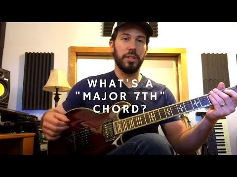 This video briefly explains a Major 7th Chord