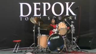 Avenged Sevenfold '' And All Things Will End '' Drum cover by Ariel Drummer 7 thn
