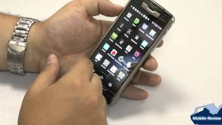 Обзор Vertu Signature Touch